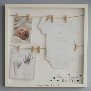 Personalised Precious Baby Frame