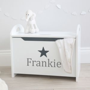 Personalised Star Toy Box Styled