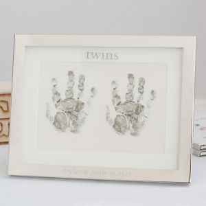Twin Handprint Frame
