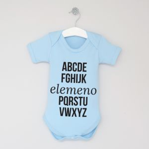ABC Slogan Bodysuit