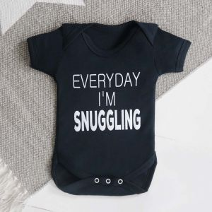 Every Day I'm Snuggling Bodysuit