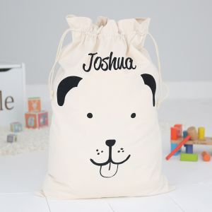 Personalised Toy Sack - Puppy
