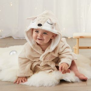 Personalised Fawn Robe
