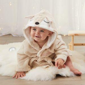 Personalised Baby Deer Robe