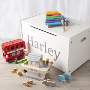 Personalised Wooden Toys Gift Set