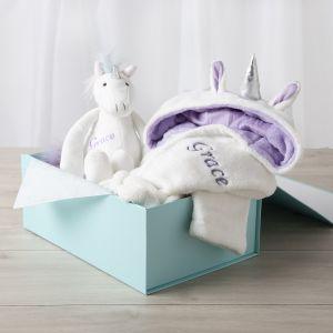 Personalised Unicorn Gift Set
