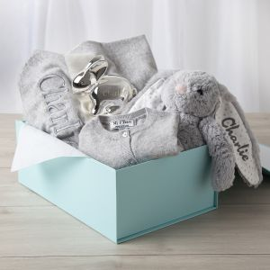 Personalised 'New Baby' Luxury Gift Set