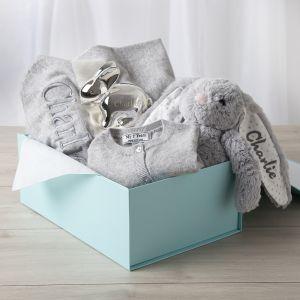Personalised 'New Baby' Luxury Gift Set