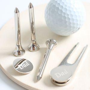 Personalised Dad's Golf Set