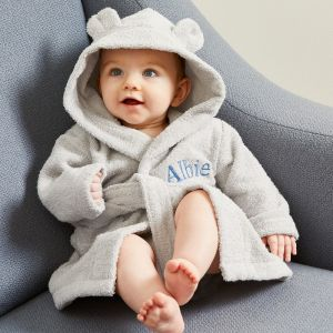 Personalised Hooded Towelling Robe