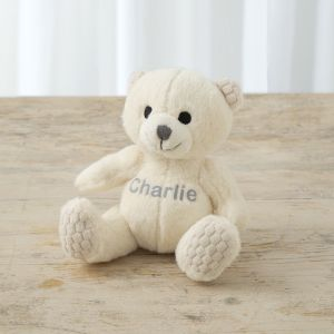 Personalised Small Ivory Bear