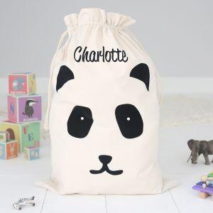 Personalised Toy Sack - Panda
