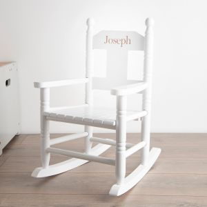 White Personalised Rocking Chair