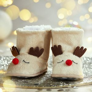 Personalised Reindeer Booties