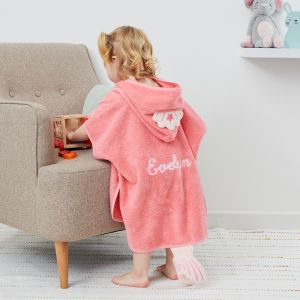Personalised Children's Princess Mermaid Swim Poncho