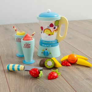 Personalised Le Toy Van 'Fruit & Smooth' Wooden Blender Play Set