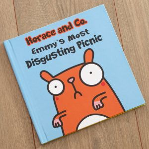 Personalised Horace and Co Most Disgusting Picnic Book