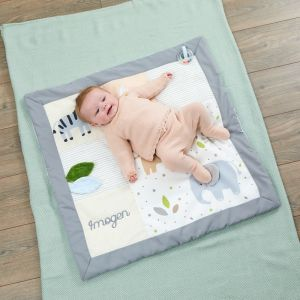 Personalised Jungle Animal Playmat