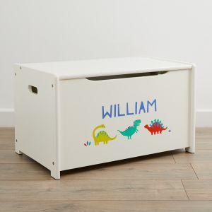 Personalised Dinosaur Design Toy Box