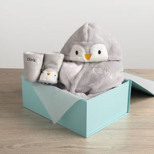 Personalised Penguin Gift Set