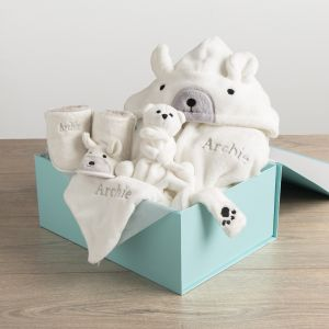 Personalised Polar Bear Gift Set