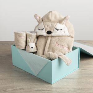 Personalised Fawn Gift Set
