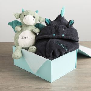 Personalised Dragon Gift Set