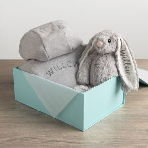 Personalised Onesie and Toy Gift Set