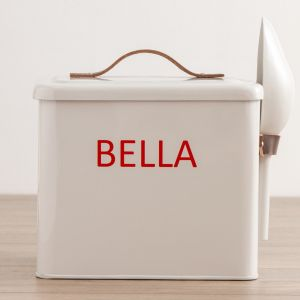 Personalised Regular Pet Food Storage Bin
