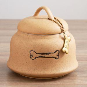Personalised Ceramic Dog Treat Pot