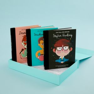 Personalised Little People, Big Dreams Mini Pioneers Book Collection
