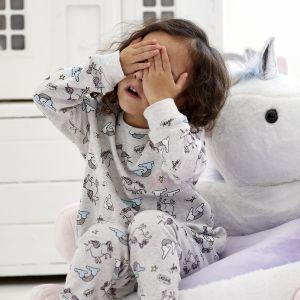 Personalised Unicorn Print Pyjama Set