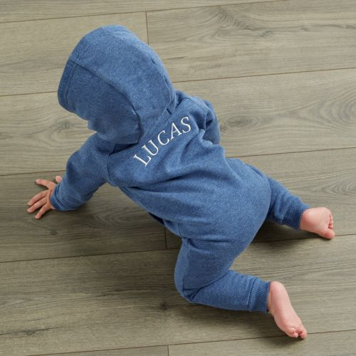 Personalised Jersey Onesie - Navy