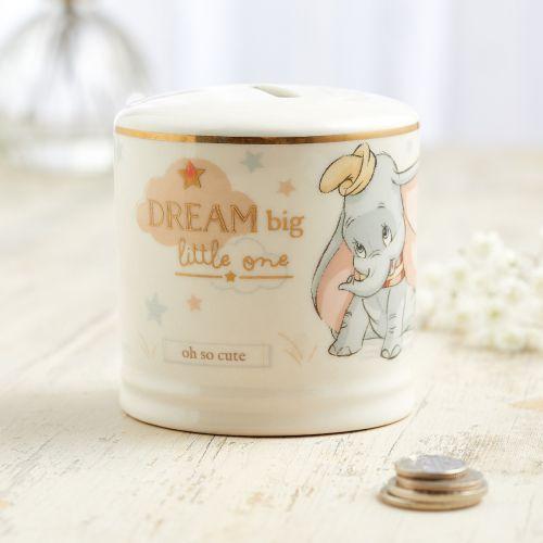 Personalised Disney Dumbo Ceramic Money Box