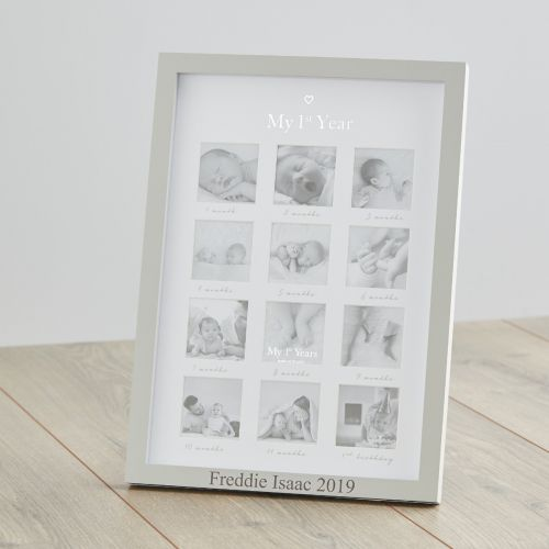 Personalised My 1st Year Photo Frame