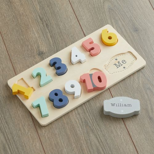 Personalised Colourful Number Puzzle