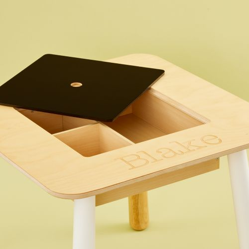 Personalised Children's Chalk Board Table