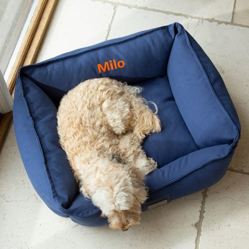 Personalised Canvas Pet Bed - Model