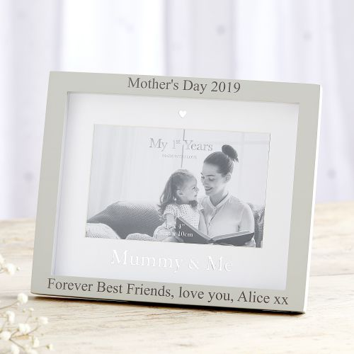Personalised 'Mummy & Me' Photo Frame