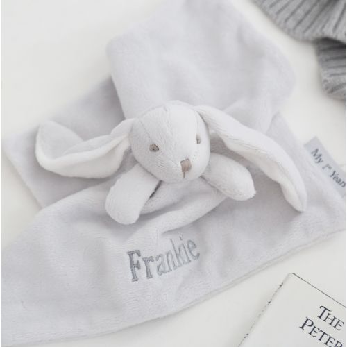 Super Soft Bunny Comforter - Grey