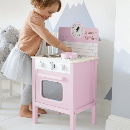 Personalised Pink Play Kitchen