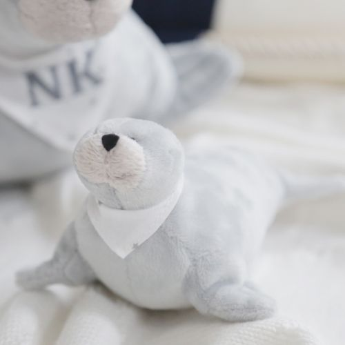 Small Grey Seal Soft Toy