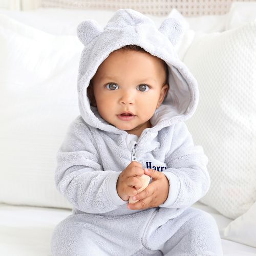 Personalised Baby Bear Onesie