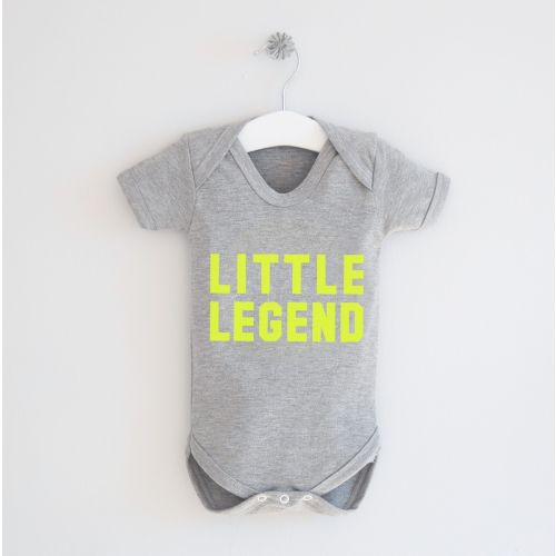 Grey 'Little Legend' Bodysuit