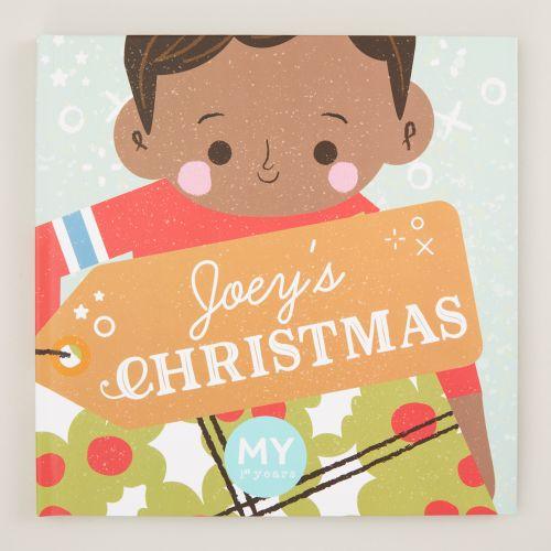Personalised Your Christmas Book Hardback