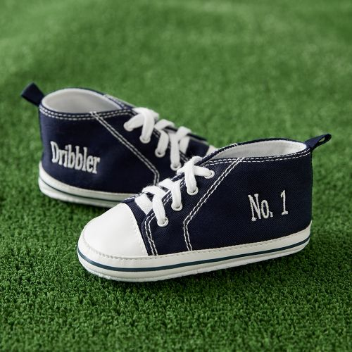 No1. Dribbler Navy High Tops