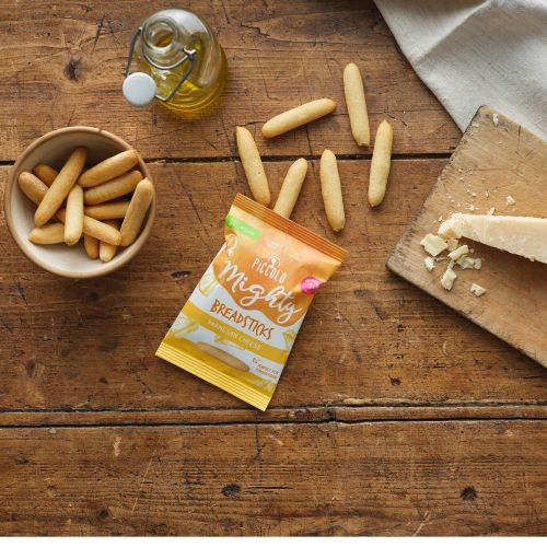 Piccolo Organic Mighty Breadsticks with Parmesean Cheese 20g (12 Months+)