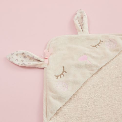 Personalised Bunny Hooded Towel