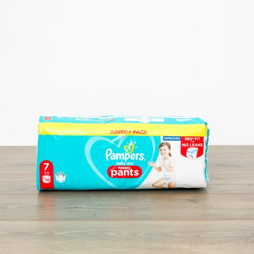 Pampers Size 7 Baby Dry Pants (Jumbo Cube Pack)