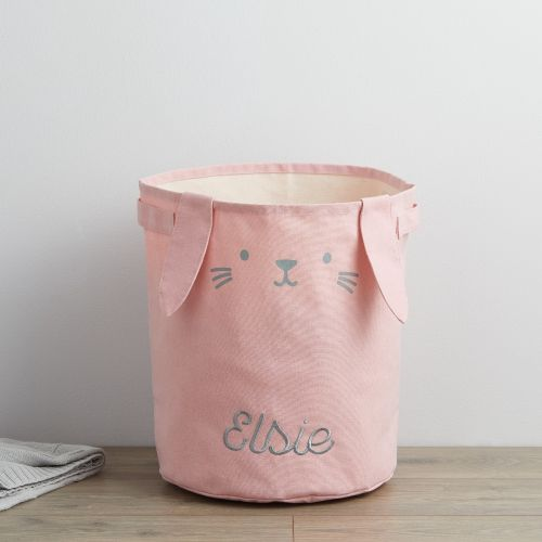 Personalised Pink Bunny Storage Bag